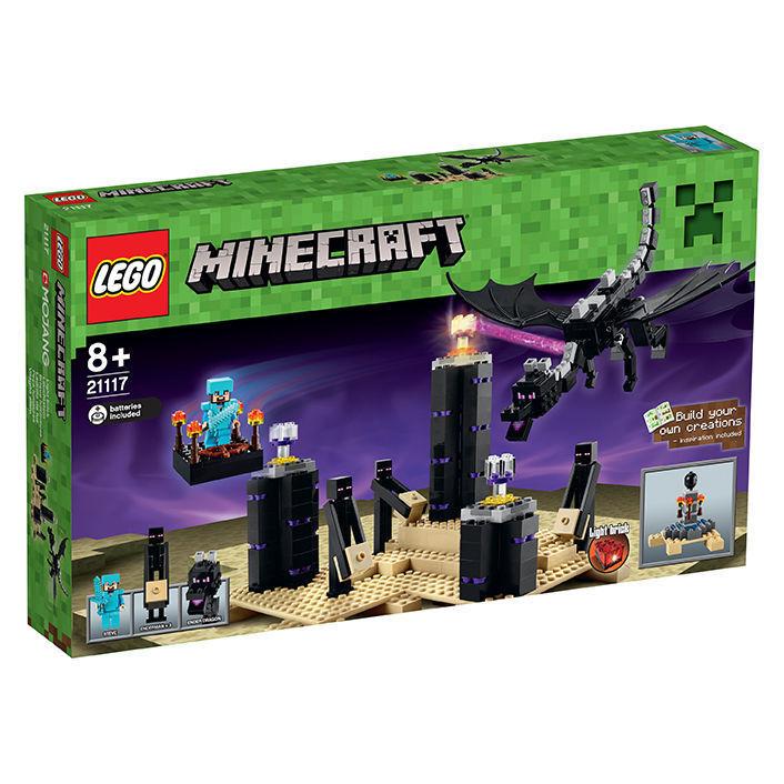 LEGO 21117 Minecraft Der Enderdrache NEUWARE-VERSIEGELT-UNBESPIELT