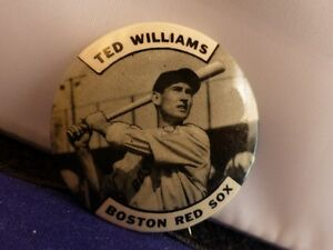 Ted Williams Antique Pinback