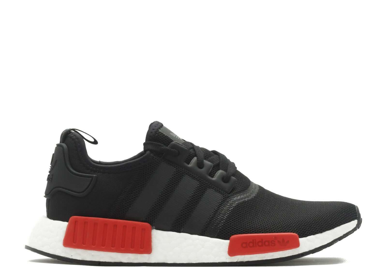 Adidas Originals NMD_R1 Boost Bred Core Black Clear Red Running White Men BB1969