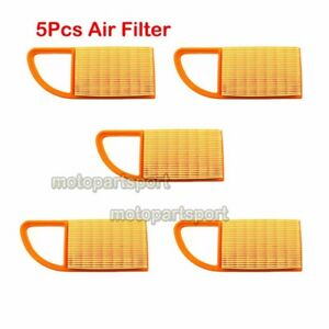 5x-4282-141-0300-B-Air-Filter-For-Stihl-Blowers-BR500-BR550-BR600-4282-141-0300