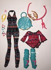 Monster High Brand-Boo Students Isi Dawndancer Doll Outfit Clothes & Shoes NEW