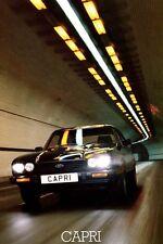 Ford Capri Mk3 2.8 injection S large retro poster