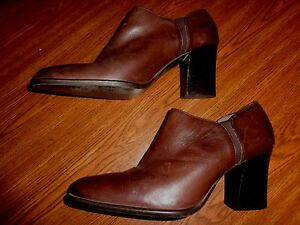 0ecc0d208e7 Image is loading Apostrophe-BROWN-SHOES-WOMEN-039-S-SIZE-8-