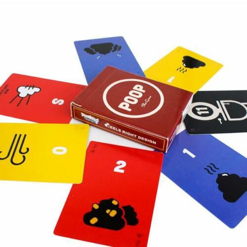 Poop Card Game Breaking Games BRK 1011 Family Party Micro Educational Drinking