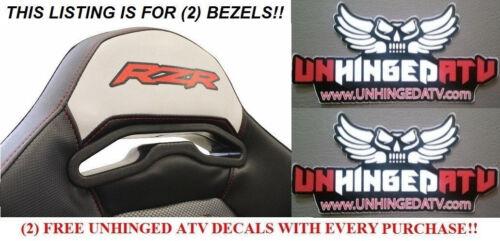 Dragonfire Harness Seat Pass Through Bezels RZR General XP1000 900S 900XC 2