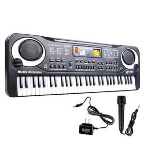 61-Keys-Digital-Music-Electronic-Keyboard-Electric-Piano-Organ-Instrument-GA