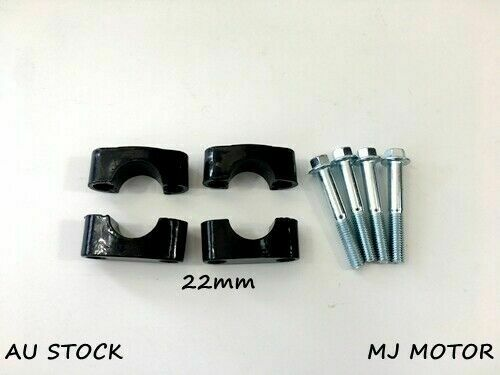 "Handle bar Clamp Riser Mount 110cc 125cc Dirt Pit bike ATV 22mm 78"" Handlebar"