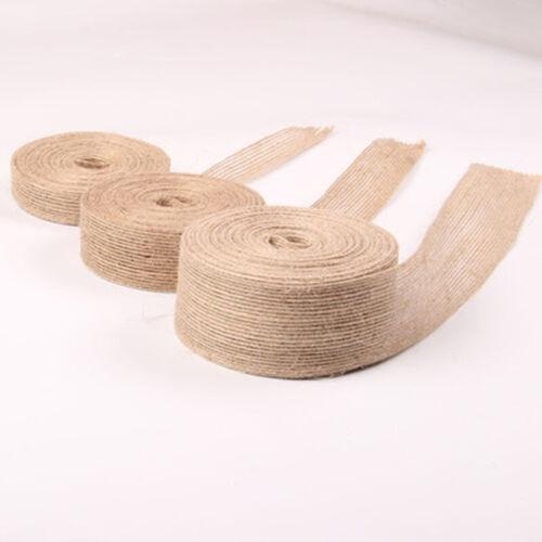 Design Jute Ribbon Twine 10 Meters Belt Bow Crafts Role Weddings Garland
