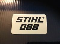 088 Stihl Chainsaw Badge Replacement Plastic Never Used Not A Sticker
