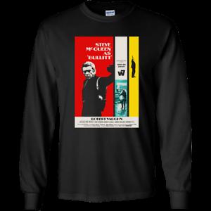 Bullit Steve McQueen Bullet G240 Gildan LS Ultra Cotton T-Shirt