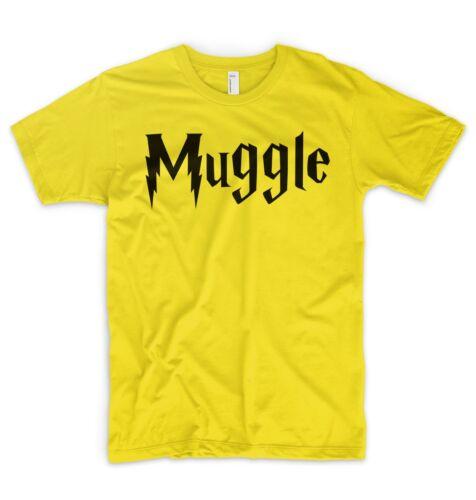 Muggle T Shirt Harry Potter Magic Dumbledore Ron Hermione Gryffindor Hogwarts