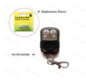 1x Garage Door Remote Controller Replacement Battery Chamberlain