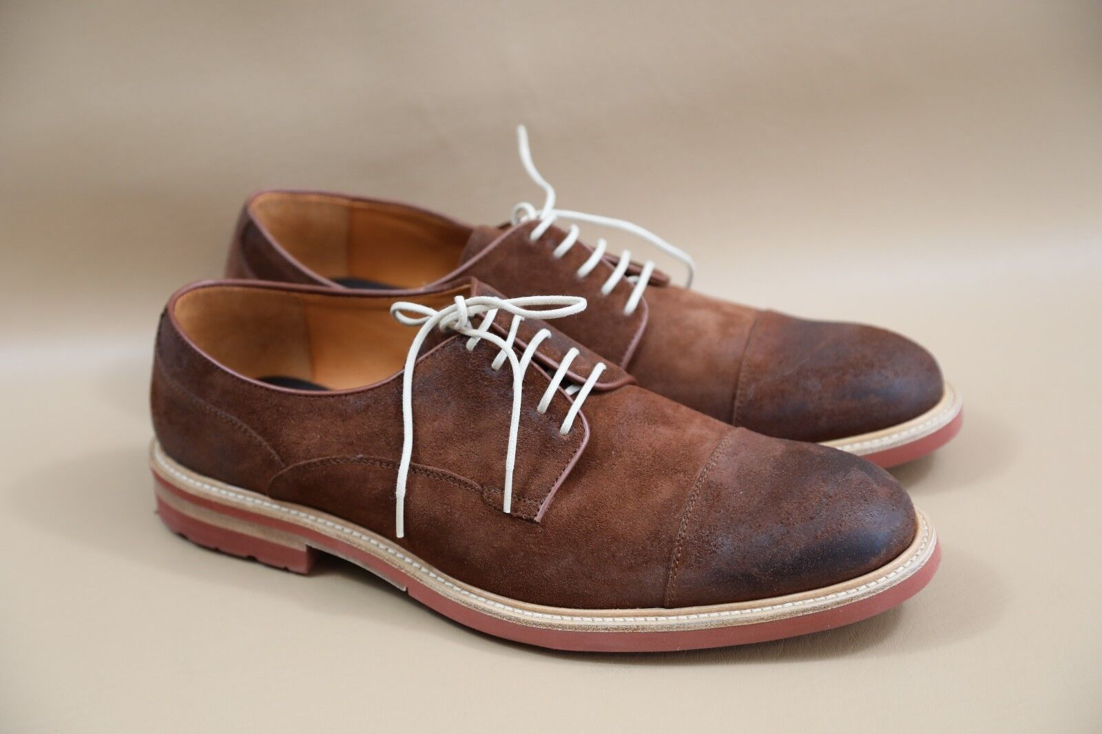 #88 Crosby Square Nubuck Pelle Oxfords Taglia 46