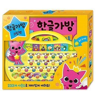 Original Pinkfong Sound Picture Book Koreanische Hangul Lerntasche Für Baby & Kinder