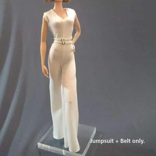 "Silkstone,Tall barbie Handmade~Doll jumpsuit for 12/"" Doll~ Barbie,FR"