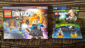 Lego Dimensions Fantastic Beasts 71253 + 71257