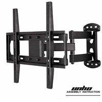 Articulating Tilt Swivel Tv Wall Mount Fit Wood Stud For 22- 55 Vesa Up 400400