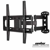 Articulating Tilt Swivel Tv Wall Mount Fit Wood Stud For 22- 55 Vesa Up 400400