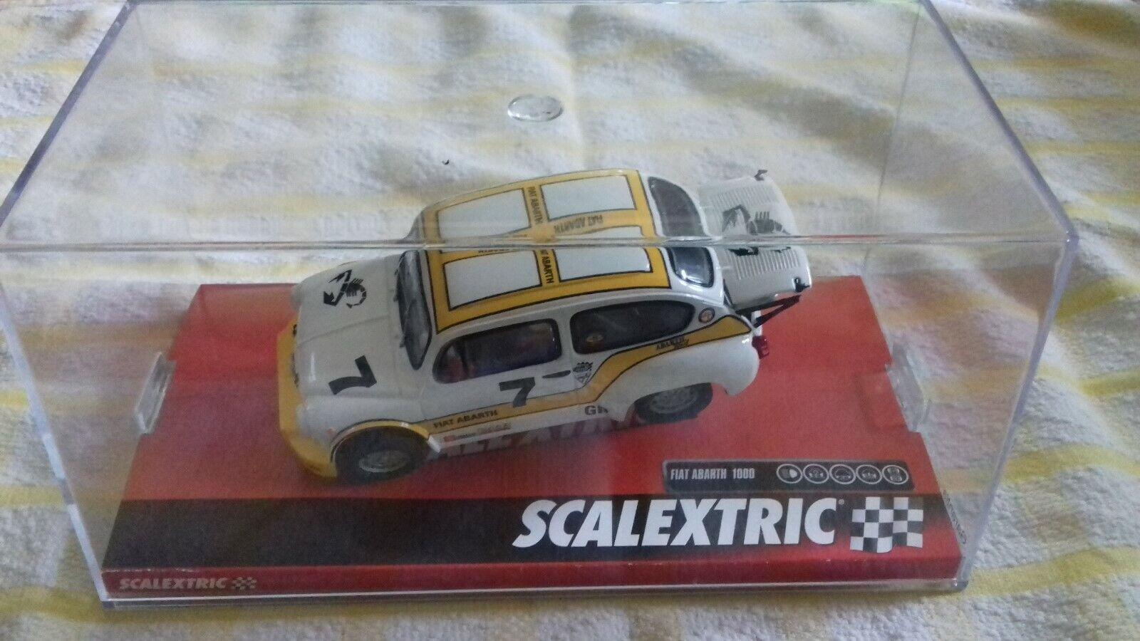 Scalextric A10121S300 Fiat 1000 Abarth Berlina Corsa  7 neuf en boîte