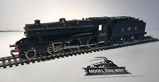 KITBUILT - 00 GAUGE - 2-6-0 BLACK LMS STANIER 5F 2971 LOCO/TENDER - WELL BUILT