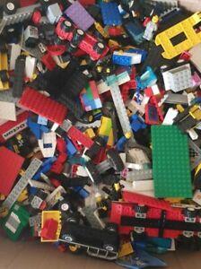 Pick-N-Mix-1kg-10kg-gebrauchter-Lego-2-10-Minifigur-echte-Steine-und-Teile