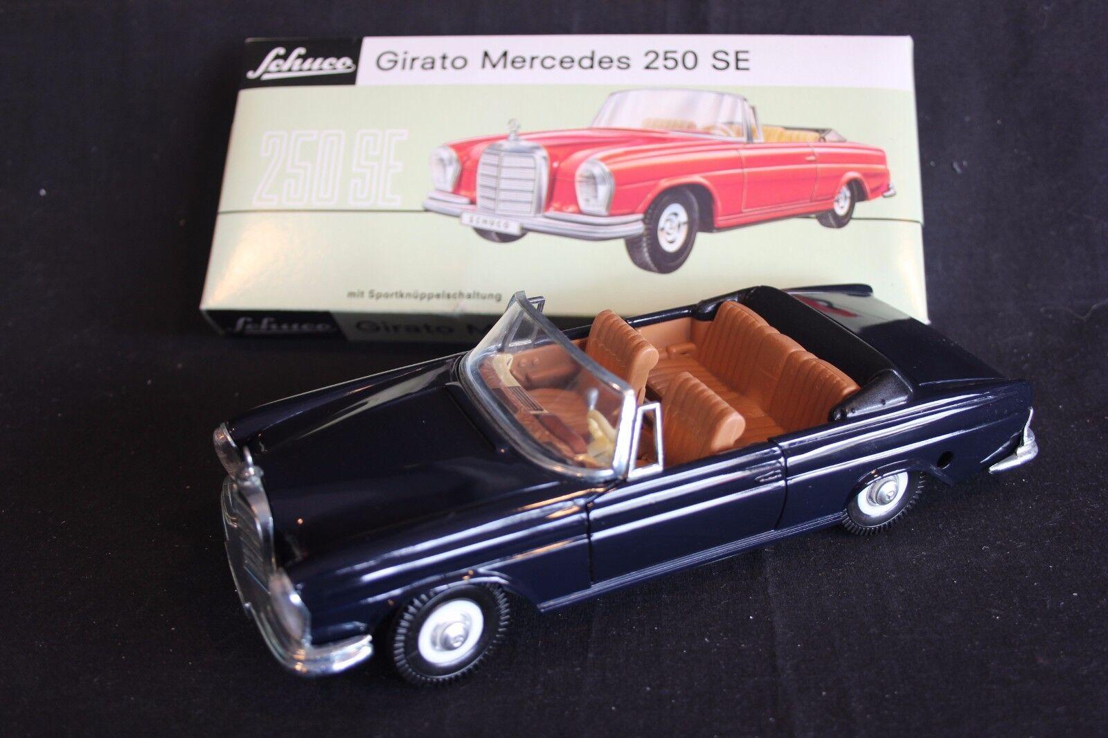 Schuco Girato Mercedes-Benz 250 SE 1 20 dark bluee (JS)