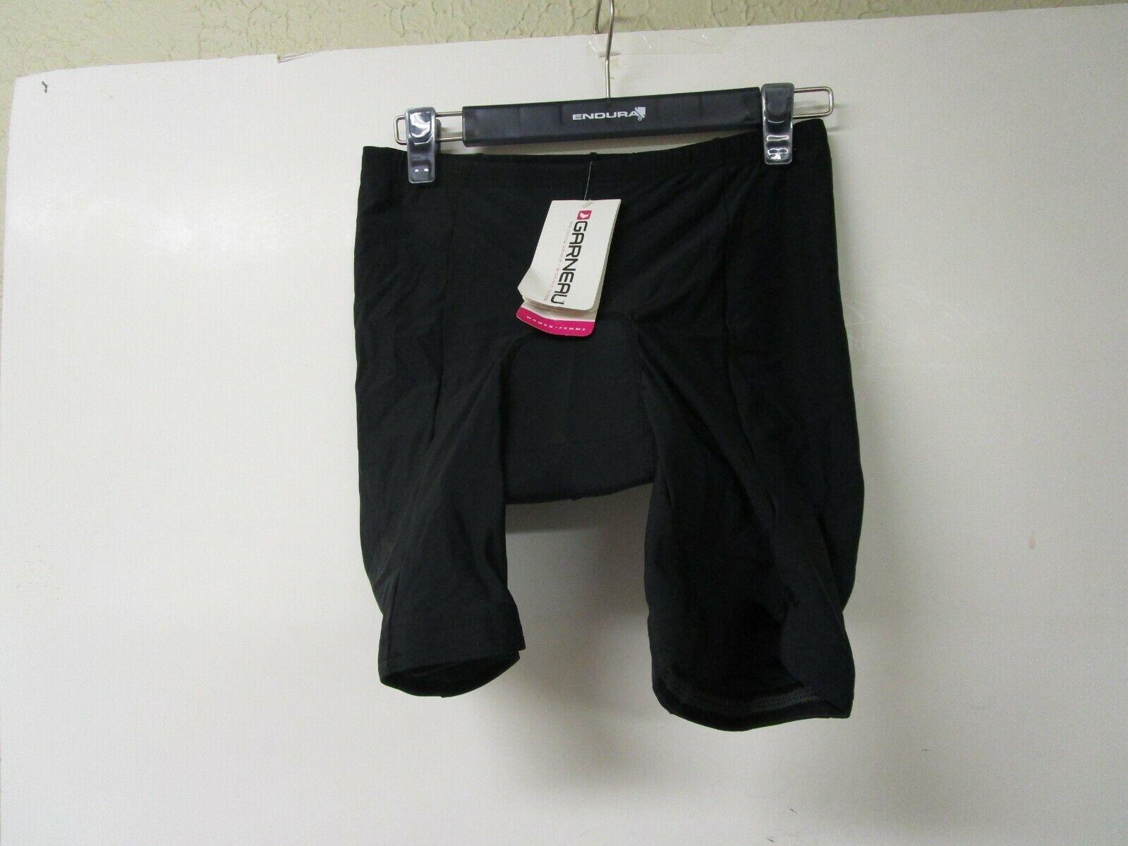 Solicitud de ciclismo bicicleta ciclismo shorts para mujeres Garneau XXL Negro 1050367 -  nuevo con etiquetas