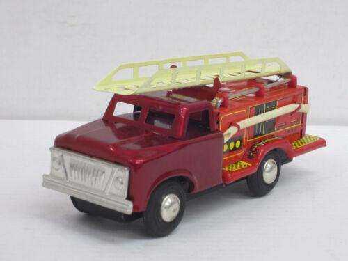 Feuerwehrleiterwagen MF 163, o.OVP, China, Länge 15,5 cm, Feuerwehr