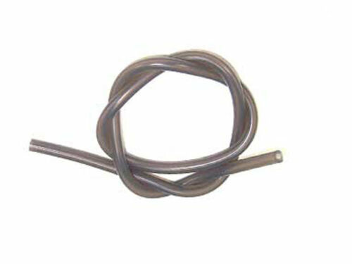 Light Black Silicone Fuel Line Ø5*2.5mm 50cm CPV 51801K RC nitro gas engine part