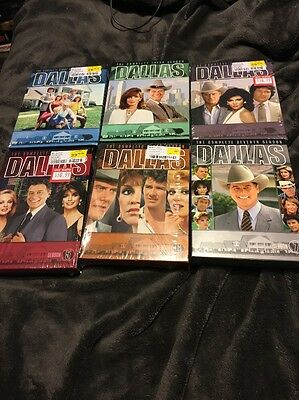 Dallas: Original 1978 TV Series Complete Seasons 1 2 3 4 5 6 7 Box/DVD Set(s)