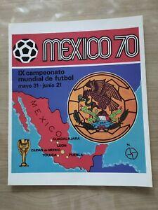 Album Panini Mexico 70 Réédition