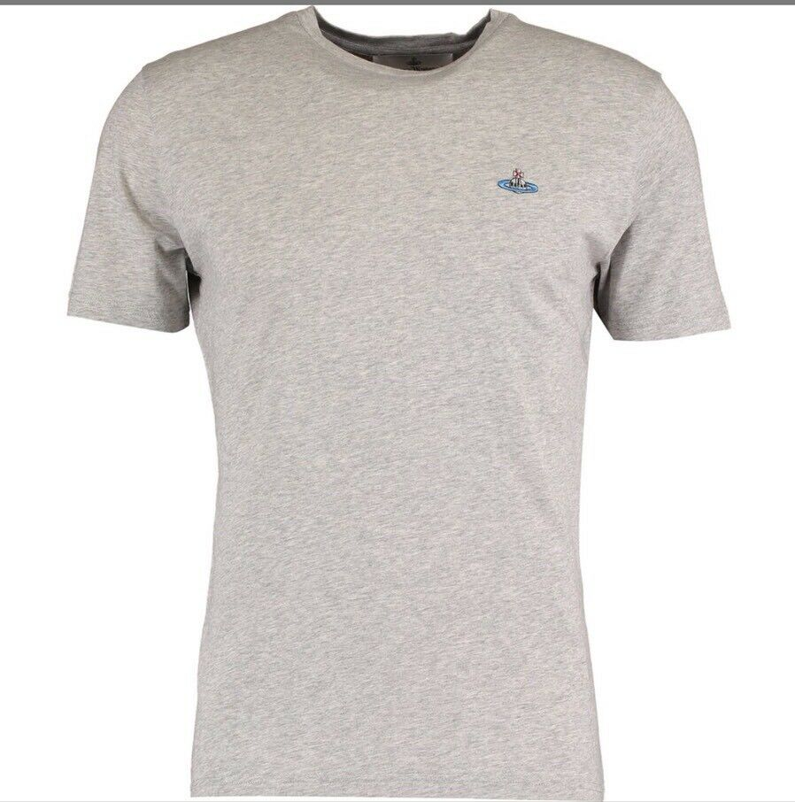 New With Tags Vivienne Westwood Grey Mark Size Large  T-Shirt RRP