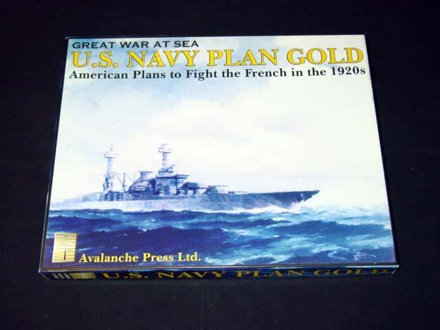 Avalanche Press 2006 - Great War at Sea - U.S. Navy PLAN oro   UNPUNCHED