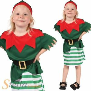 83c6c30f54aff bébé fille Père Noël Helper Père Déguisement noël Lutin costume ...