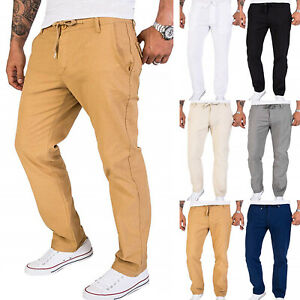 Mens-Casual-Pants-Twill-Joggers-Hip-Hop-Elastic-Jogger-Slim-Fit-Stretch-Trousers