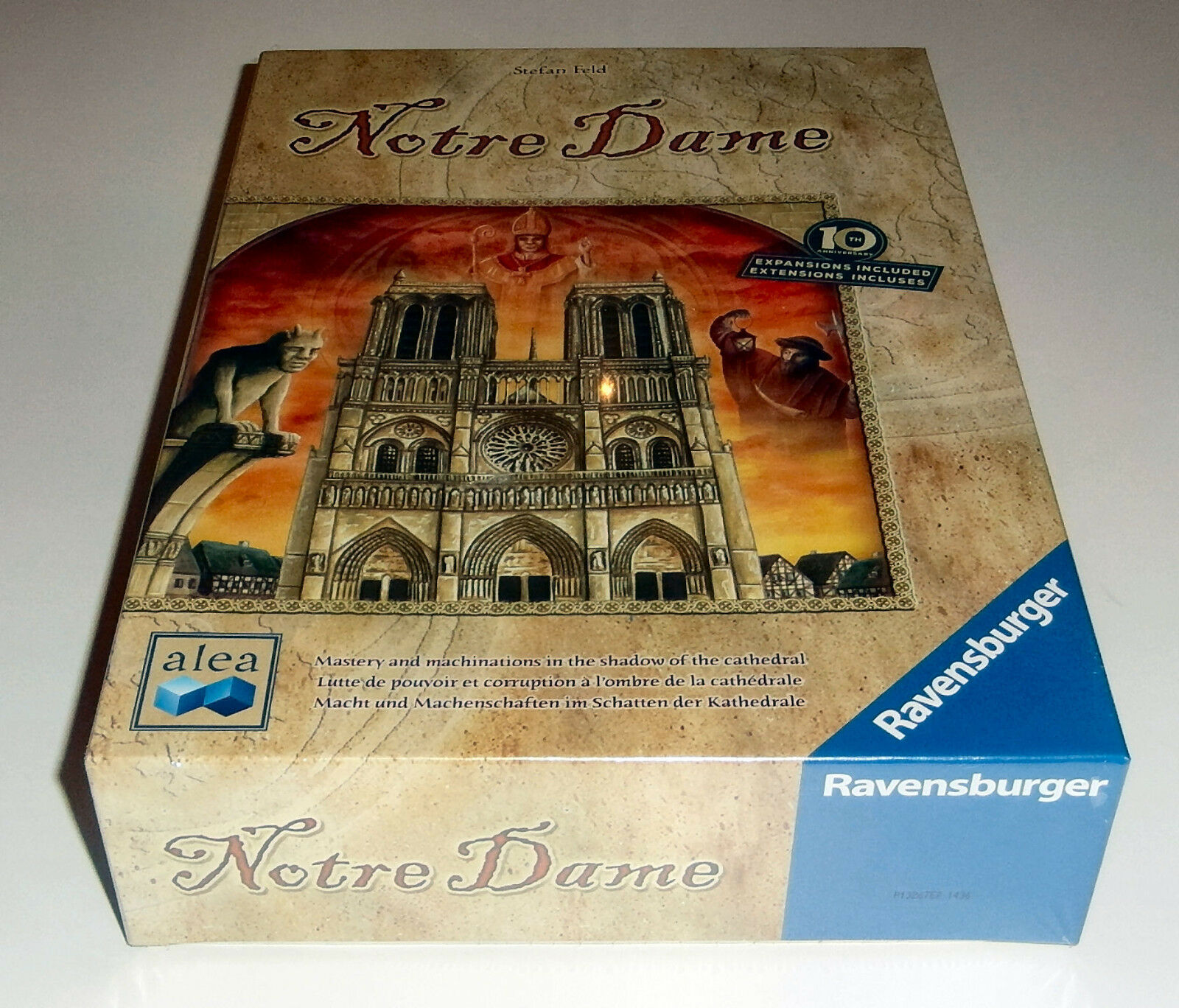 Notre Dame  10th Anniversary Edition-Ala Ravensburger - 2017