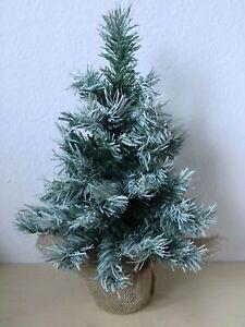 Weihnachtsdeko Für Baum.Details Zu Logo Mini Baum 45 Cm Künstlicher Weihnachtsbaum Schneeoptik Weihnachtsdeko