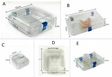 Hinged Display Box Acrylic Membrane Case Storage Jewelry Chip Shockproof Boxes