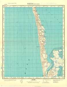 Denmark Topographic Map.Russian Soviet Military Topographic Maps Norre Havrvig Denmark