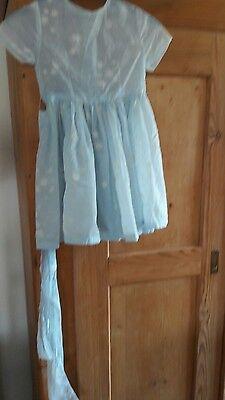 Petticoat-kleid -festliches Kleidchen (blumenmädchen) Aus 60er Jahren - Vintage Reines Und Mildes Aroma