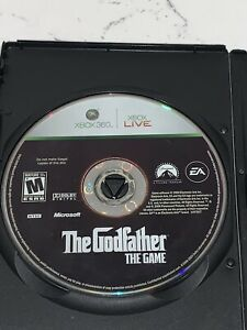 The-Godfather-The-Game-Microsoft-Xbox-360-Disc-Only-Clean-Rare-Mafia