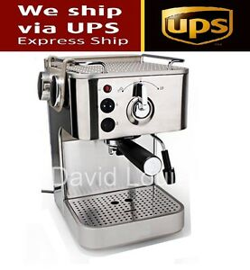 Image Is Loading Semi Automatic Italian 19 Bar Cuccino Espresso Coffee