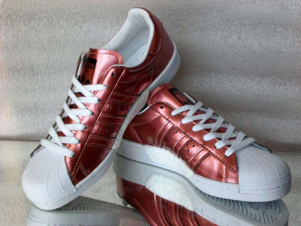 Adidas Originals Superstar W bb2270 Femmes Turn/cours Chaussures cuivre métallisé NEUF-