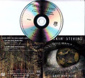 SHAKIN-039-STEVENS-Last-Man-Alive-2016-UK-2-track-promo-CD