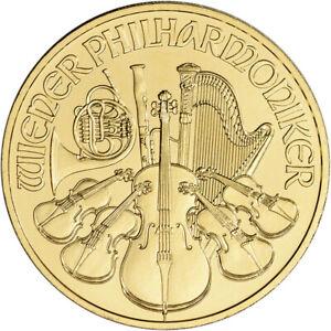 2021 Austria Platinum Philharmonic 1 oz 100 Euro BU