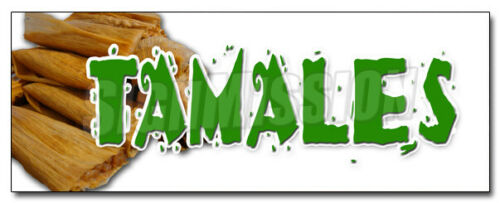 TAMALES DECAL sticker mexican dough corn latin comfort food meat cheese