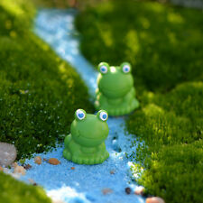 Cute Frog DIY Resin Fairy Garden Craft Decoration Miniature Terrarium Gifts/_CH