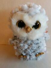 "TY Beanie Boos 6/"" ENCHANTED Unicorn Owl w// Horn Plush Stuffed Animal Toy MWMTs"