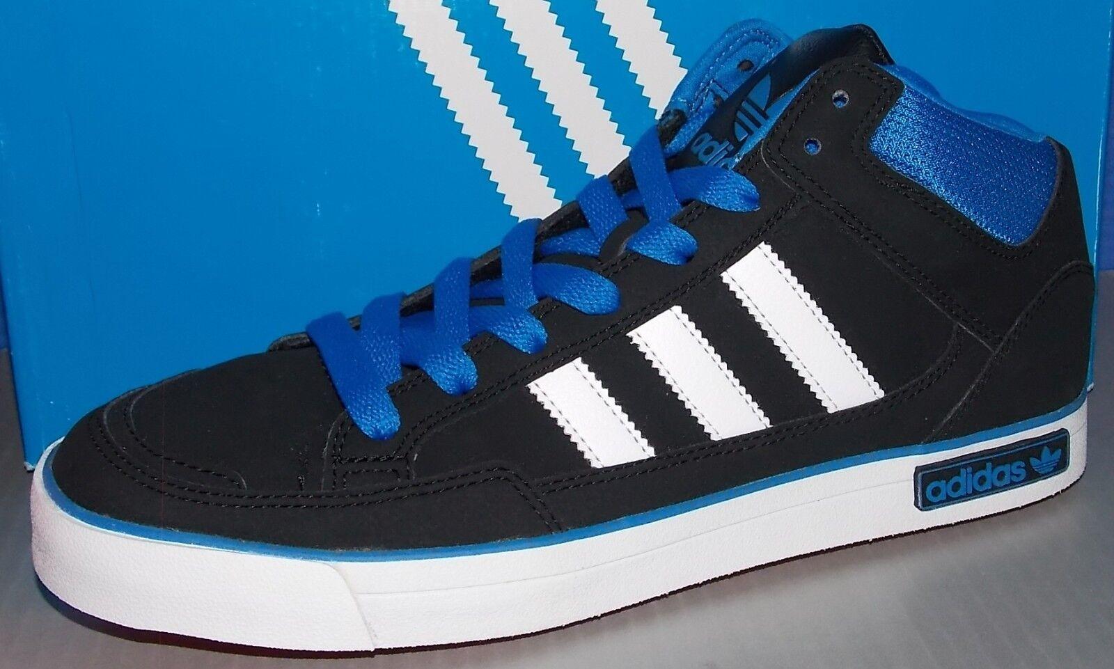MENS ADIDAS VC 1000 in colors BLACK   WHITE   blueBIR SIZE 11.5