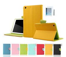 iPad Mini 1 2 3 Colour Tasche Smart Cover Silikon Case Schutz Hülle Etui Zubehör